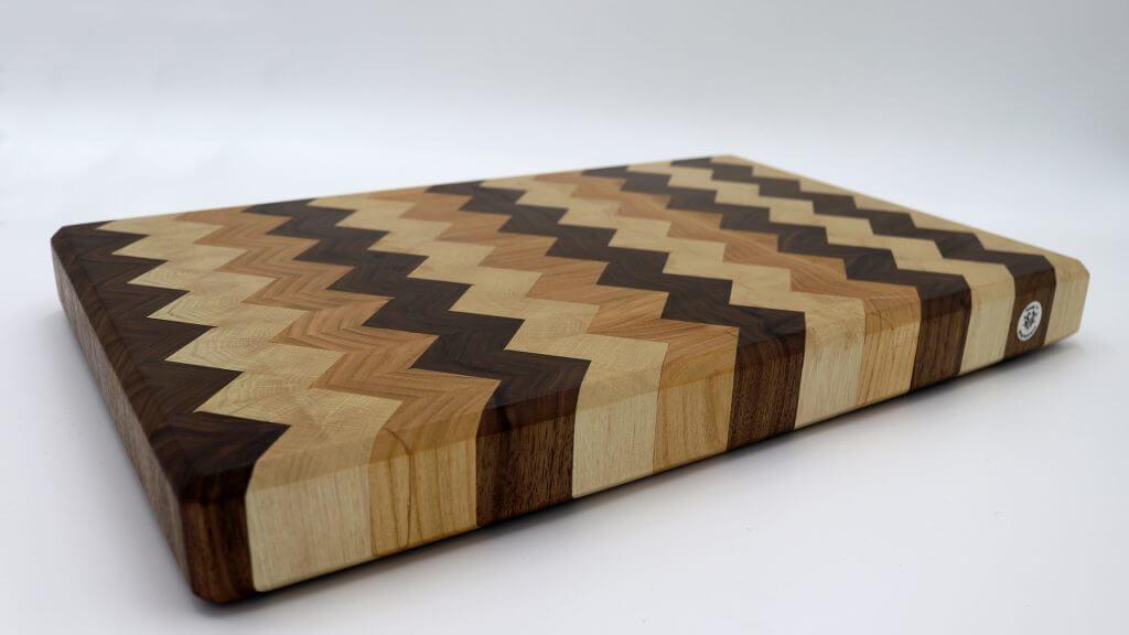 schneidbrett selber machen nussbaum kirsche wei buche andys werkstatt. Black Bedroom Furniture Sets. Home Design Ideas