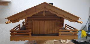 Vogelhaus Rückseite